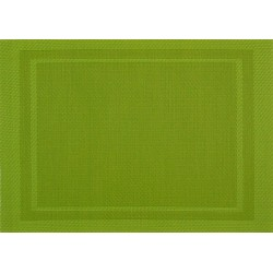 Set de Table Yuco Encadré PVC Olive