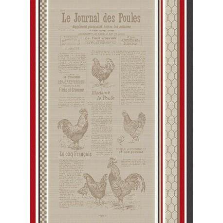 Torchon Jacquard Colette Mulitcolore