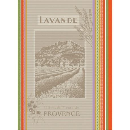 Torchon Jacquard Lavande