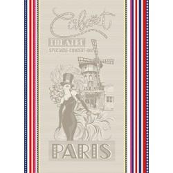 Torchon Jacquard Cabaret Multicolore
