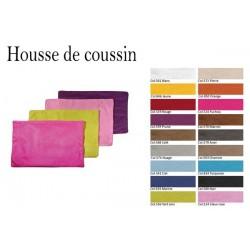 Housse de Coussin Suédine 30x50 cm - 16 Coloris