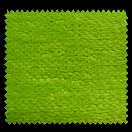Rideau A Oeillets Botany Gris Imprimé Palmes