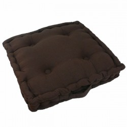 Coussin Tapissier Chocolat