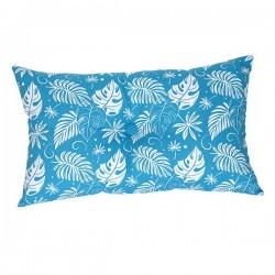 Coussin Hawaï Imprimé Bleu