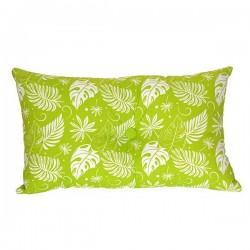 Coussin Hawaï Imprimé Vert