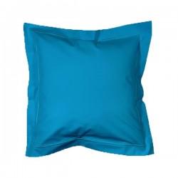 Linge de Lit Percale Bleu Agate