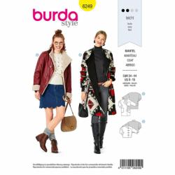 Patron Burda 6249 Veste Croisée