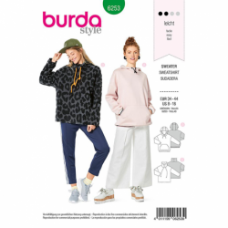 Patron Burda 6253 Sweat-shirt