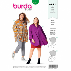 Patron Burda 6257 Blouse