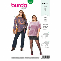 Patron Burda 6260 T-shirt Et Tunique