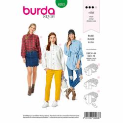 Patron Burda 6263 Blouse Et Chemise