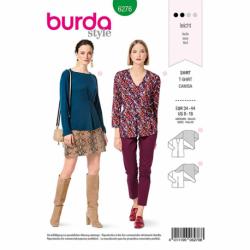 Patron Burda 6276 Tee-shirt