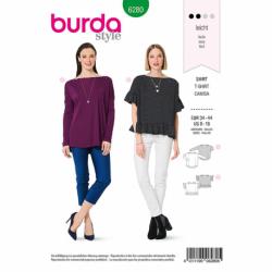 Patron Burda 6280 Tee-shirt Col Bateau