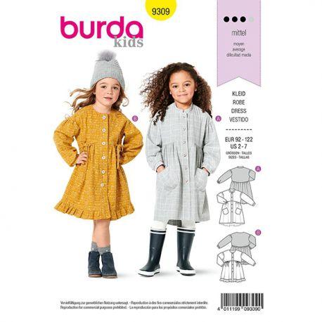 Patron Burda 9309 Robe