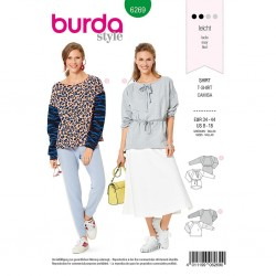 Patron Burda 6269 Sweat-shirt