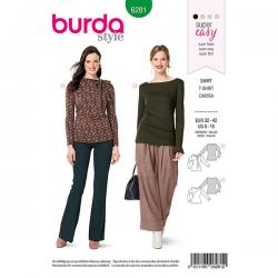 Patron Burda 6281 Tee-shirt