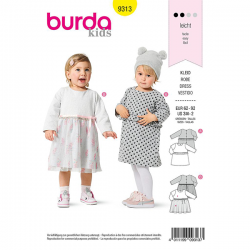 Patron Burda 9313 Robe
