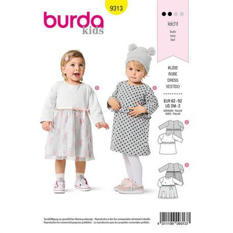 Patron Burda 9313 Robe