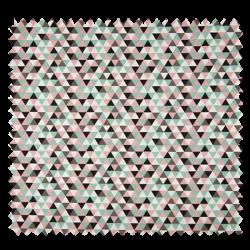 Tissu Popeline Coton Imprime Geographique
