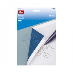 2 Papiers Carbone Blanc et bleu 56x40 cm