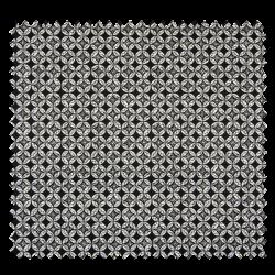 Tissu Coton Imprimé Noir