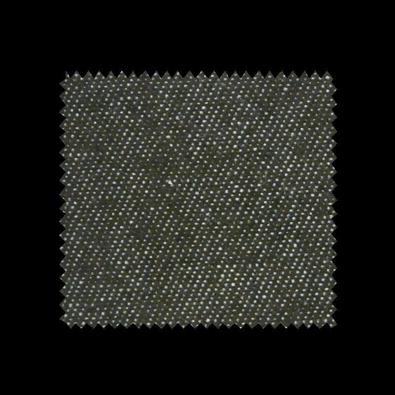 Tissu Chemisier Jeans Noir