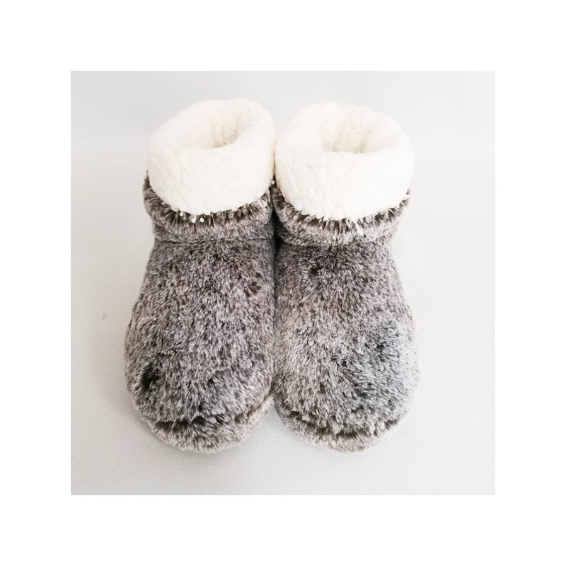 Chaussons Cocoon Gris/Marron