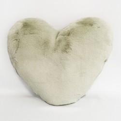 Coussin Coeur Romeo - Coloris Vert