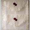Parure Housse de Couette Melia Blanc - 4 Tailles