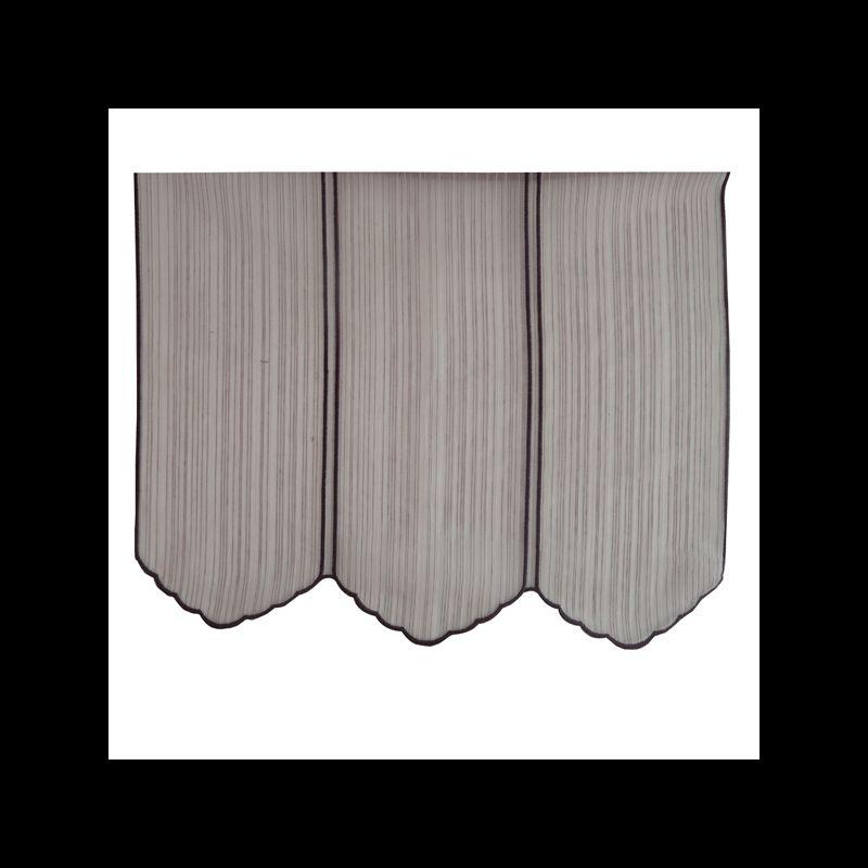 brise bise soho prune 45 cm tissus des ursules. Black Bedroom Furniture Sets. Home Design Ideas