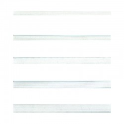 Élastique tubulaire polyester blanc 5 tailles