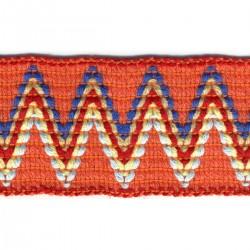 Galon élastique incas 5 coloris