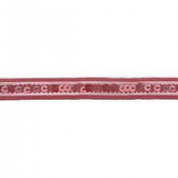 Galon paillette élastique