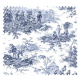 Tissu Histoire d'Eau Bleu