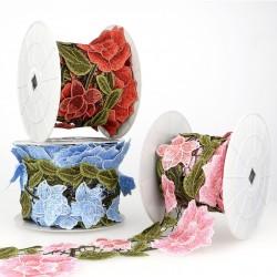 Guipure roses