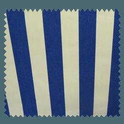 Toile Dralon Classic Rayée Bleue