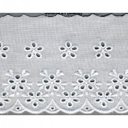 Broderie anglaise 80mm