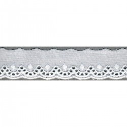 Broderie anglaise 24mm