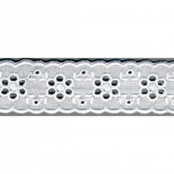 Broderie anglaise 30mm
