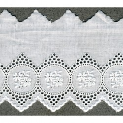 Broderie anglaise 75mm