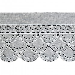 Broderie anglaise 60 mm