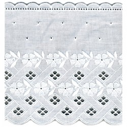 Broderie anglaise 137 mm