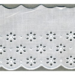 Broderie anglaise 75 mm