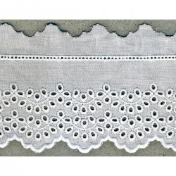 Broderie anglaise 65 mm