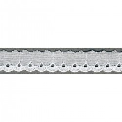 Broderie anglaise 20mm