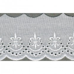 Broderie anglaise 60mm