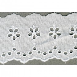 Broderie anglaise 65mm