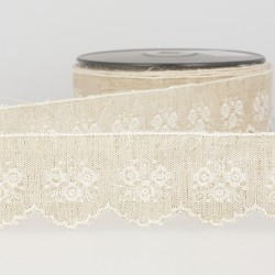 Broderie base lin