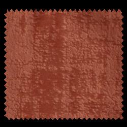 Tissu Illusion Velours Frappé Orange Brûlée