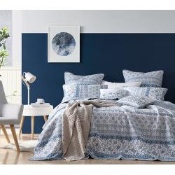 Boutis Chiva Bleu